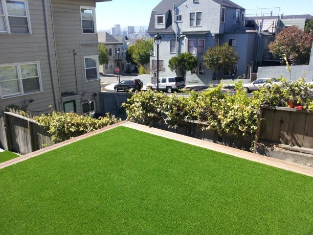 Project: San Francisco, CA Rooftop Synthetic Grass/Artificial Turf