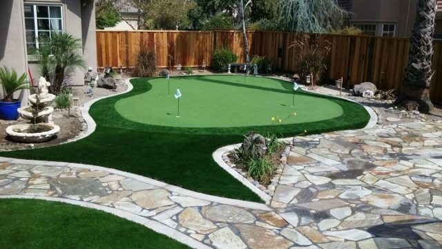 Project: Brentwood, CA Backyard Putting Green