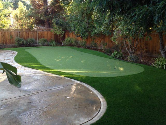 Project: Backyard Putting Green Installation in Danville CA