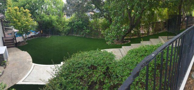 Project: Orinda, CA Backyard Synthetic Grass