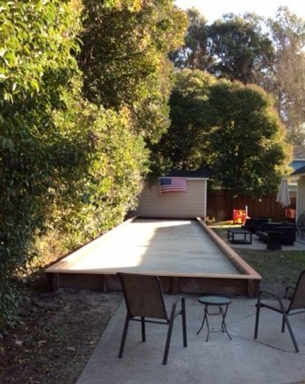 Project: San Ramon Backyard Bocce Court – Oyster Shell Flour