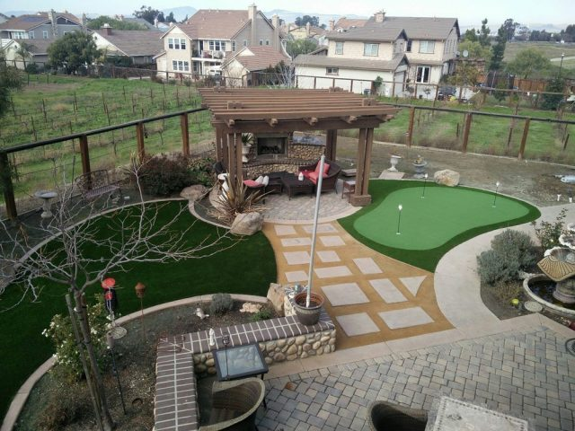 Project: Turf, Putting Green, and Gold Fines Done Right